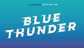 Blue Thunder Rib Rides Logo