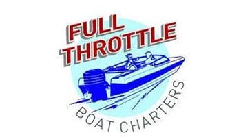 Full Throttle Boat Charters Logo